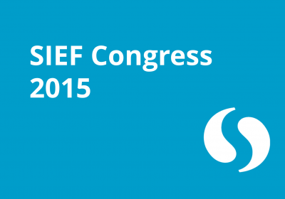 SIEF Congress 2015